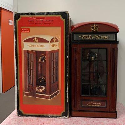 《復古絕版家居有線電話》[全新未用、操作正常,只是外盒有點舊]