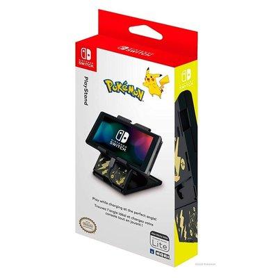 現貨中 HORI Nintendo Switch 小螢幕立架 黑金皮卡丘款 NSW-294【板橋魔力】