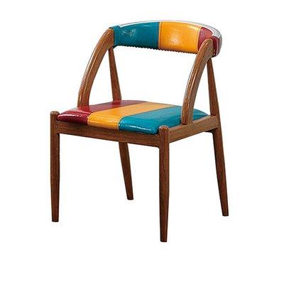 KIPO-Steward彩虹皮餐椅/桌椅/單椅/椅_WQs4