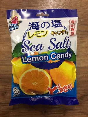 BF 海鹽檸檬糖(150克)big foot 馬來西亞必買