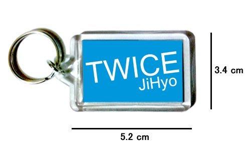 〈可來圖訂做-鑰匙圈〉TWICE 志效 JiHyo 壓克力雙面鑰匙圈 (可當吊飾)
