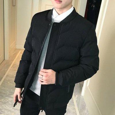 2018新款男士外套冬季潮流韓版外套青年冬裝棉服棉襖棉衣外套 預購款
