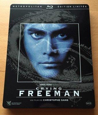 毛毛小舖--藍光BD 哭泣殺神 Crying Freeman 限量鐵盒版