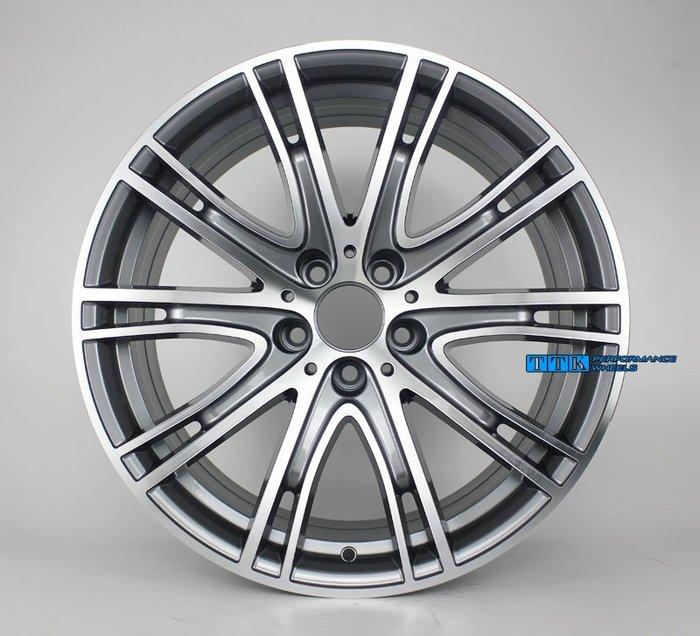 【台灣輪胎王】類BMW 2018年 原廠鋁圈式樣 19吋 5孔120 前後配 F:8.5J R:9.5J 灰車面