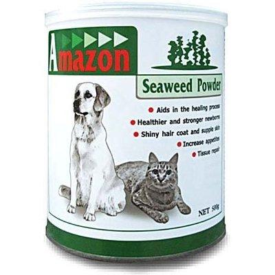 【🐱🐶培菓寵物48H出貨🐰🐹】Amazon 天然犬/貓海藻營養粉(200g)   特價199元