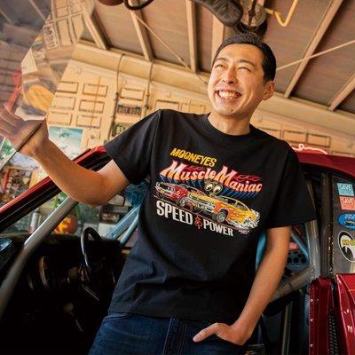 (I LOVE樂多)MOON Muscle Maniac 短袖T-shirt(XXL賣場)