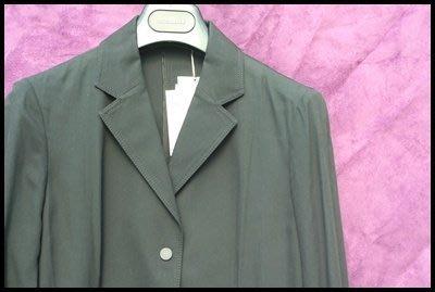 COMME CA DU MODE 旗下設計師【KIYOKO TAKASE】黑色長袖修身飾邊外套