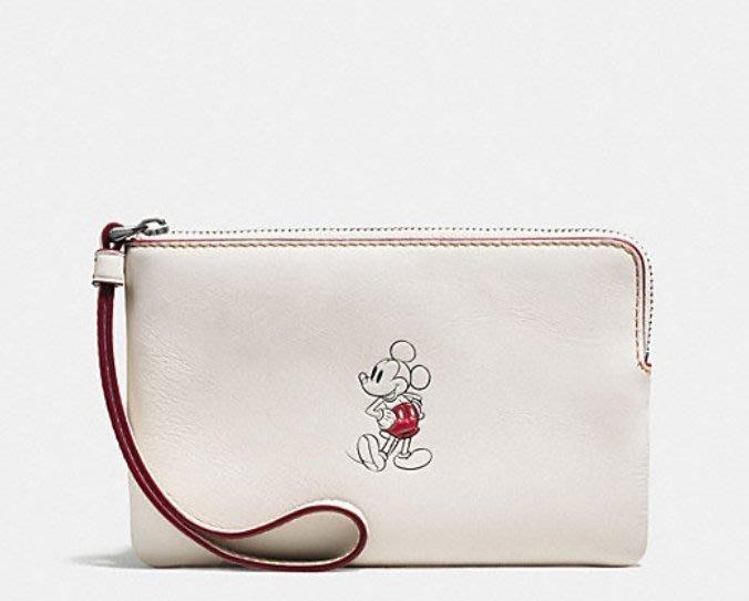~☆.•°莎莎~*~~☆~ COACH 59528 Disney Coach 限量版小手拿包~現貨