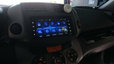 中壢富馳汽車音響 TOYOTA 06~12年 RAV4音響改裝 JHY R3 RAV4專用7吋安卓導航影音主機