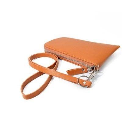 手拿包 時尚手機包-潮流簡約百搭純色女包包8色73ft13[獨家進口][米蘭精品]