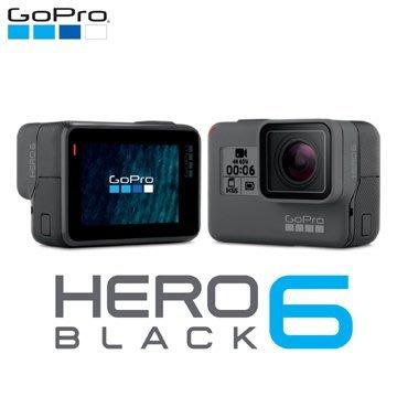 視聽影訊 GoPro HERO 6 Black 全方位攝影機(公司貨)另CANON SONY