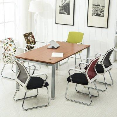 電腦椅 家用辦公椅 四腳椅子會議椅椅職員椅學生椅棋牌室椅子MJBL