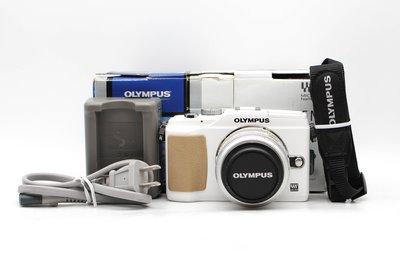【台南橙市3C】OLYMPUS E-PL2 EPL2 白 + 14-42mm f3.5-5.6 #48232