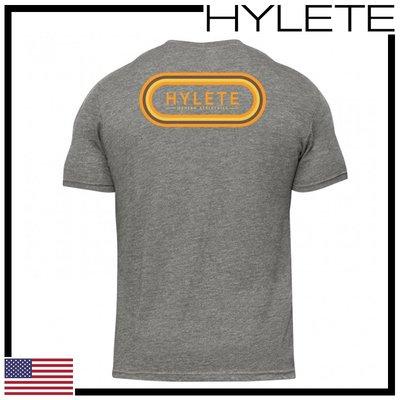 ►瘋狂金剛◄ 低調灰 HYLETE overlay tri-blend crew tee 柔軟 透氣 短袖T恤