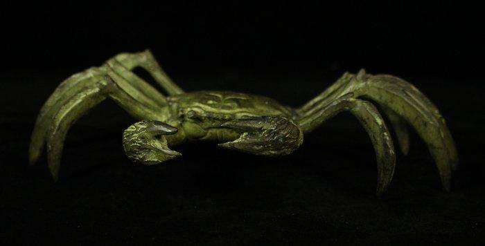 悅年堂 --- 銅 雕 螃蟹 八方來財 擺件