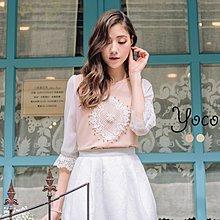 【木風小舖】轉賣YOCO.法式浪漫珍珠雪紡上衣*粉S號
