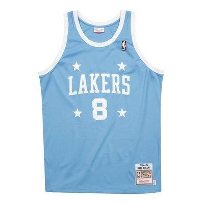 南◇2020 9月 Mitchell & Ness Los Angeles Lakers Kobe 籃球衣 高中 藍色
