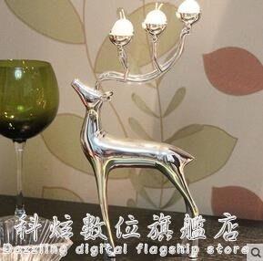現貨/歐式金屬蠟燭臺婚慶擺件飾品 igo/海淘吧F56LO 促銷價