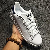 ADIDAS STAN SMITH 史密斯 三葉草 白色深藍尾 綠尾 男女生滑板鞋 慢跑鞋 M20325 M20324