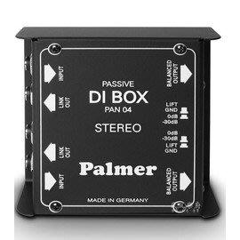 《民風樂府》Palmer PAN 04 2CH 立體訊號轉換盒  DI BOX 全新品公司貨 現貨在庫 新竹市