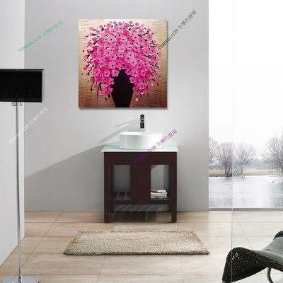 【50*50cm】【厚1.2cm】花卉-無框畫裝飾畫版畫客廳簡約家居餐廳臥室牆壁【280101_349】單聯畫
