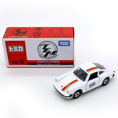 TOMICA EVENT MODEL多美小汽車會場限定版 No.5保時捷PORSCHE 911S(1星)