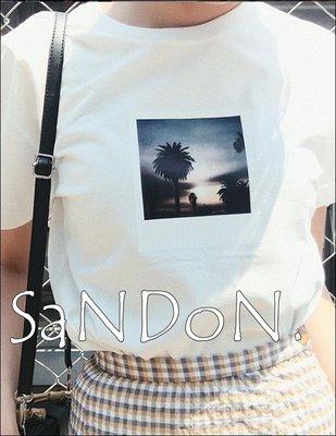 山東:MOUSSY六月新品 照片印花雙面字母上衣 SLY SNIDEL 190601
