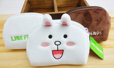 ♥Alice Family♥ LINE FRIENDS 5吋 小錢包 卡包 收納包 兔兔款♥