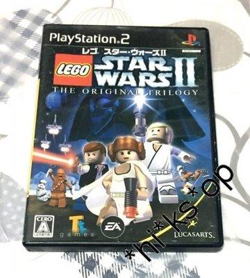 PS 2 超好玩 樂高版星際大戰 2 星球大戰 LEGO STAR WARS THE ORIGINAL TRILOGY 日版