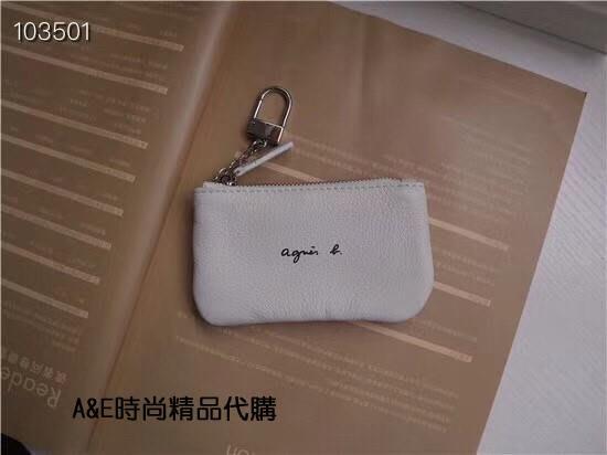 A&E精品代購agnes.b  簡約時尚 輕便零錢包 (5)日本代購