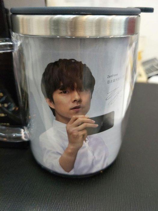 【小林通訊】韓星 孔劉 (晶鑽雙層)透明不銹鋼杯/保溫杯  只要90元