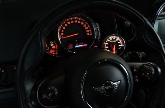 DJD19052330 Shadow 油壓錶 PRO3賽車錶 - 透明黑底 53mm錶面 歡迎洽詢