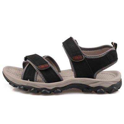 涼 鞋 真皮拖鞋-戶外耐磨防滑透氣男鞋子3色73sa6[獨家進口][米蘭精品]