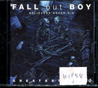 *真音樂* FALL OUT BOY CD+DVD 二手 K1954 (封面底破.CD有缺口不影響讀取) (大降價.下標賣5)