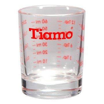 【里德咖啡烘焙王】 AC0012   TIAMO   玻璃量杯   2oz   60CC