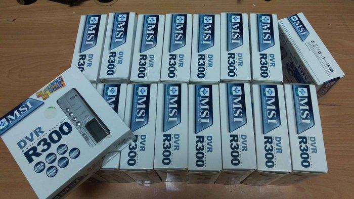☆手機寶藏點☆ MSI 微星 R300 1GB 錄音筆 MP3 隨身聽 電話錄音 監聽 配件齊全 密錄機