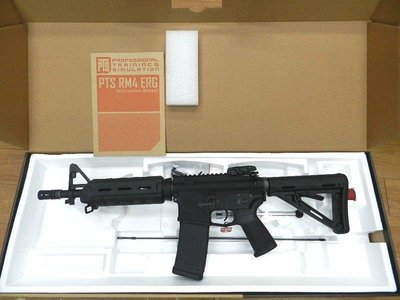 【原型軍品】全新‖ KWA RM4 PTS ERG CQB 次世代 電動槍 電槍 (無斷電設計,有後座力)