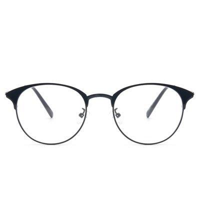 眼鏡 框 橢圓框 鏡架-文藝復古韓版金屬男女平光眼鏡5色73oe26[獨家進口][米蘭精品]