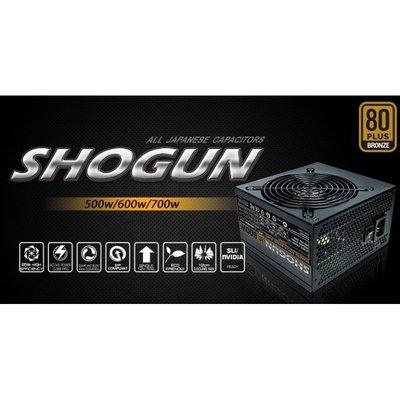 小白的生活工場*Xigmatek SHOGUN 將軍(Shogun SJ-B600) 600W電源供應器 銅牌認證