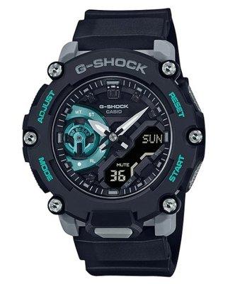 【萬錶行】CASIO G SHOCK  碳纖維核心系列  GA-2200M-1A