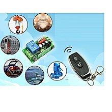 DC12V 單路無線遙控繼電器開關模組