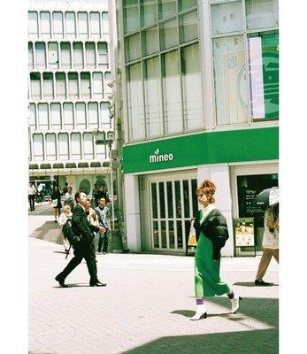 2018AW《東京趴趴買 日本代購》日本品牌SLY V領針織長洋裝(免郵)梨花 薛妞妞 Emma