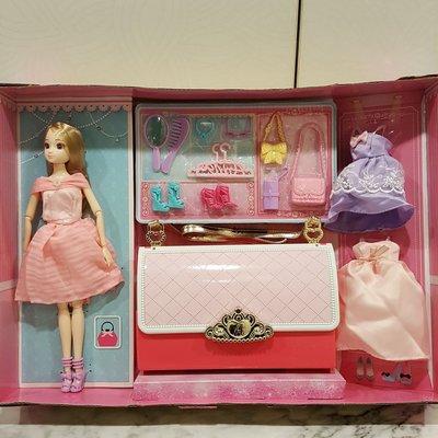 安麗莉 夢幻衣櫥 可攜式娃娃衣櫥 換裝玩具 角色扮演玩具
