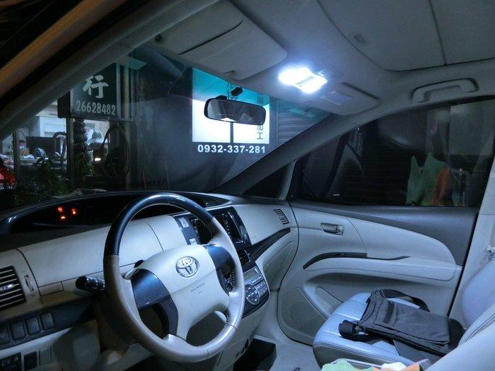 ◇光速LED精品◇TOYOTA PREVIA 室內燈  閱讀燈 6件式 132SMD恆流 暖白  1組直購2200元