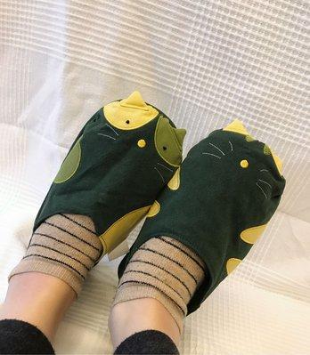 日本卡拉貓~貓咪造型室內包鞋 室內鞋L...