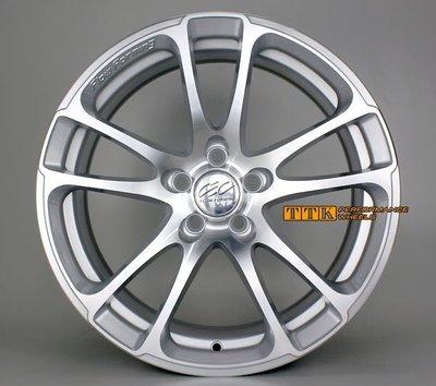 17吋 7.5J 全車系 美國CEC超輕量 FLOW FORMING 旋壓輕量化鋁圈 銀車面 約6.8KG