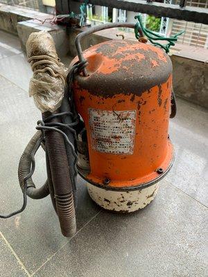 中古水電五金 水管壓接管 壓接機