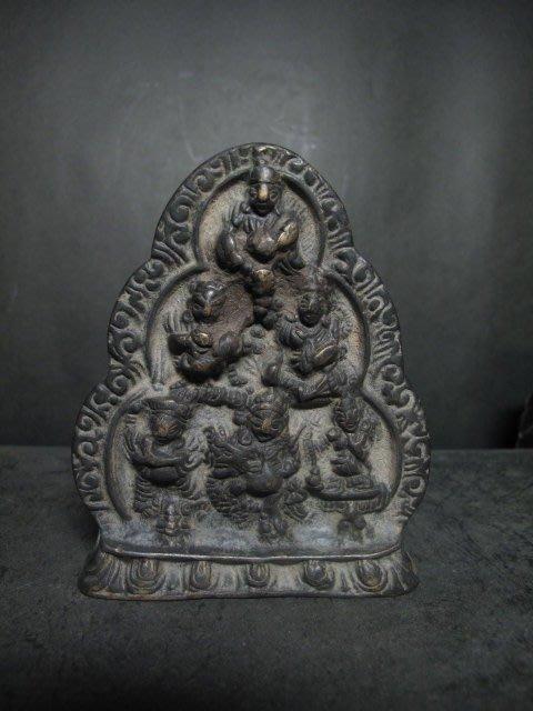 老銅雕◎   西藏銅佛 立牌