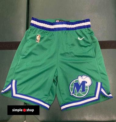 【Simple Shop】NIKE NBA 達拉斯 獨行俠 復古籃球褲 小牛隊 運動短褲 男款 CN1023-312
