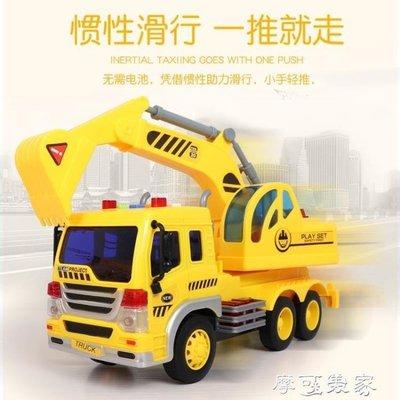 ZIHOPE 挖土機文藝開拓者工程車2會講故事的挖掘機5挖土車3兒童玩具車1-6歲寶寶ZI812